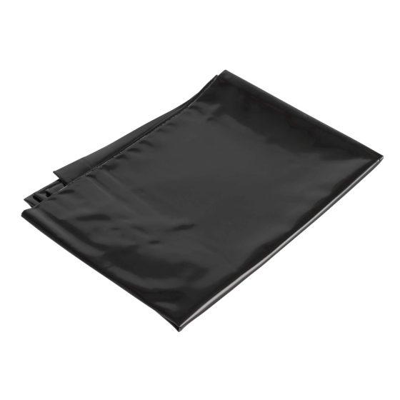 Lesklý povlak na polštář (černá)