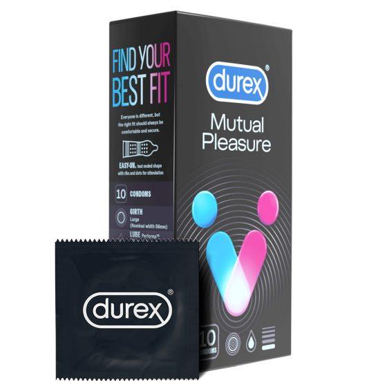 Durex Mutual Pleasure - kondomy (10ks)