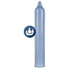 Secura Black Pearl - černé kondomy s perličkovým povrchem (24 ks)