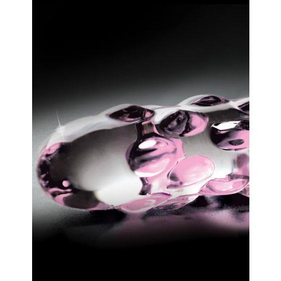 Pipedream Icicles - dildo skleněné s perličkami