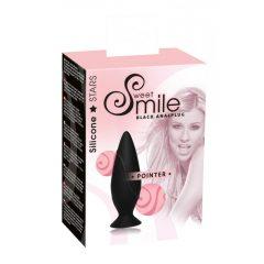 SMILE Pointer análny kolík - čierny