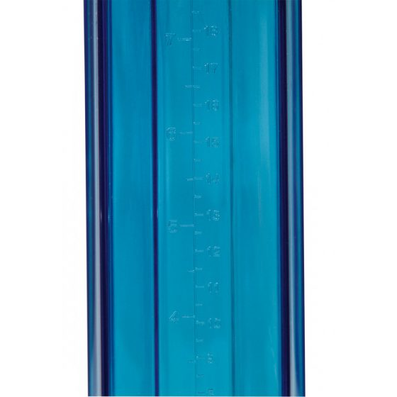 SMILE Cool - pumpa na penis (modrá)