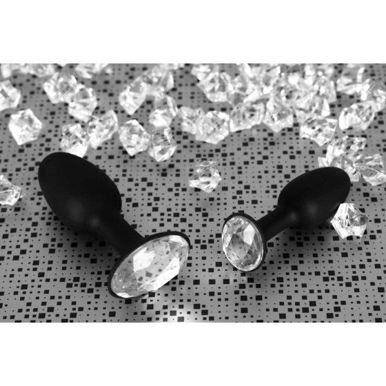 YOU2TOYS Diamond Silicone Plug small - anální kolík silikonový malý