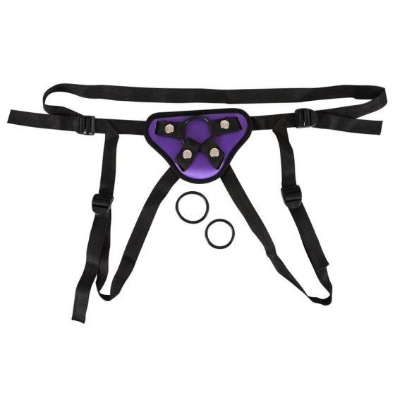 You2Toys Universal Harness - univerzální spodní prádlo k připínacím produktem (fialové)