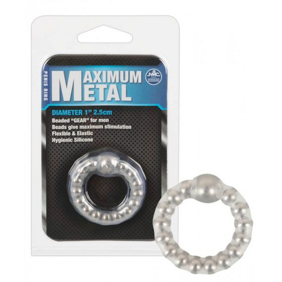 Maximum - krúžok na penis s kovom