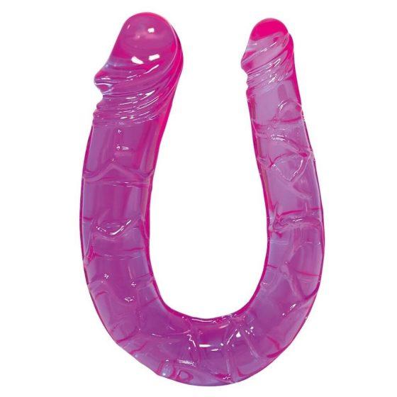 YOU2TOYS Sex Talent - dvojité gelové dildo