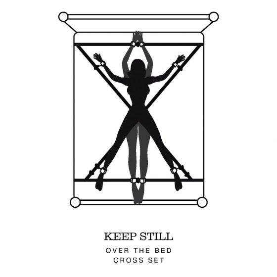 Padesát odstínů šedé - kompletní svazovací souprava Keep still