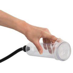 You2Toys Bang Bang Penis Pump - vakuová pumpa na penis (průhledná)