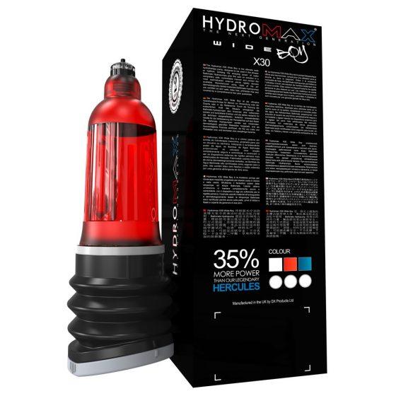 Bathmate Hydromax 7 Wide - red