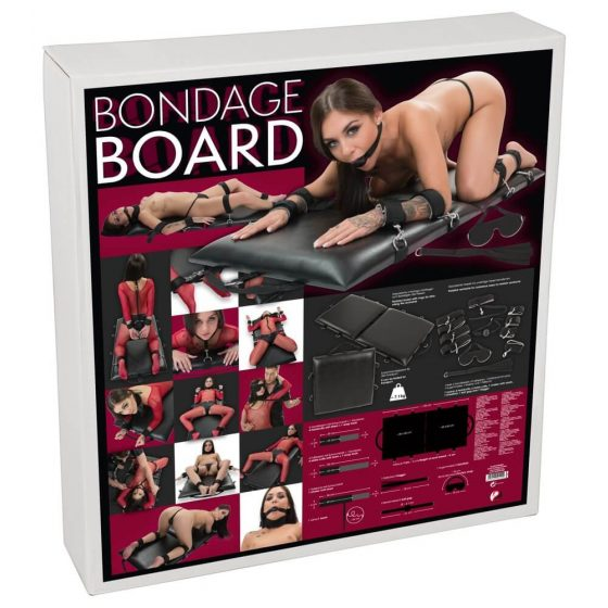 Bondage Board - Portable Stretch Bed Set (13 pieces)