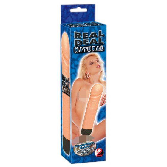 YOU2TOYS Real Deal Natural - vibrátor (17,5 cm)
