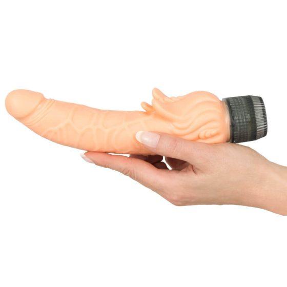 YOU2TOYS Diabolo - gelový vibrátor (21 cm)