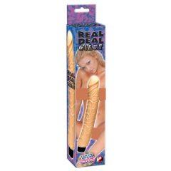 YOU2TOYS Real Deal Giant - gelový vibrátor (31 cm)