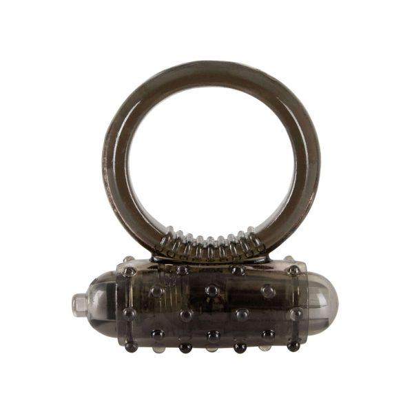 You2Toys Vibro Ring Dark - vibračný krúžok na penis