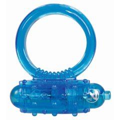 You2Toys Vibro ring - silikonový vibrační kroužek na penis - modrý