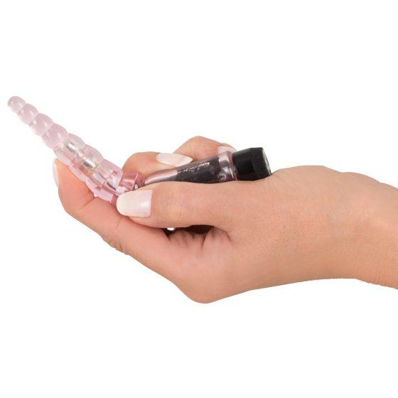 You2Toys Mini Temptation Pink - gelový mini vibrátor růžový (13,5 cm)