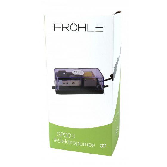 Fröhle elestric vacuum pump