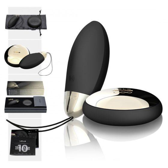 LELO Lyla 2 - vibračné vajíčko - bezdrôtové (čierne)