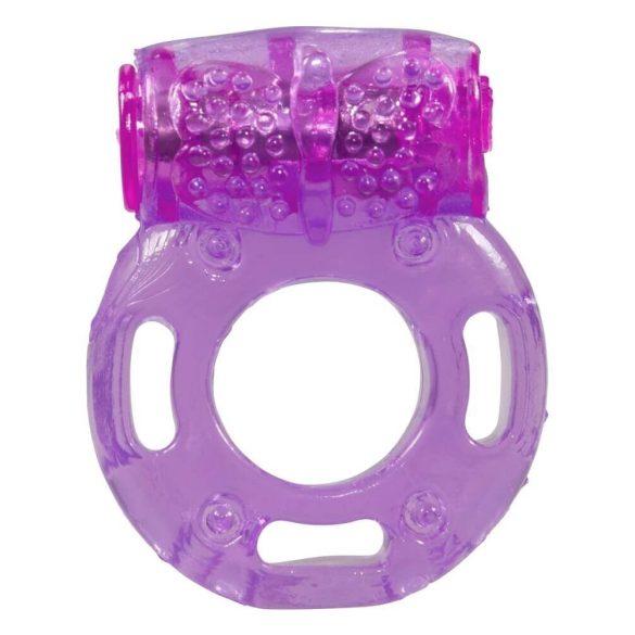 You2Toys Butterfly Wings - vibračný krúžok na penis jednorázový