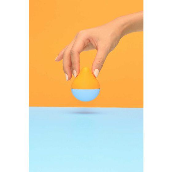 Tenga Iroha mini - mini vibrátor na klitoris (oranžovo-modrý)