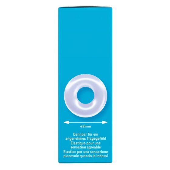 Durex Pleasure Ring - kroužek na penis (průhledný)