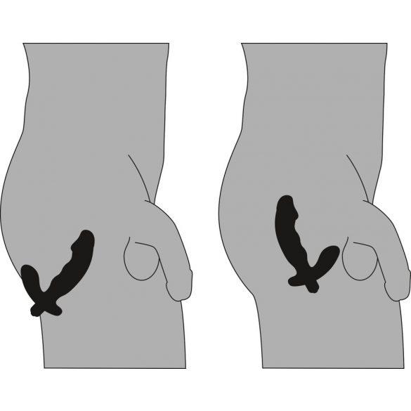 Rebel Prostate - vibrátor na prostatu (černý)