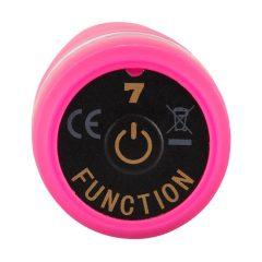 You2Toys Deep Vibrations - extra silný vibrátor s vlnitým povrchem (růžový)