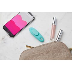 We-Vibe Moxie - nabíjecí smart vibrátor na klitoris (tyrkysový)