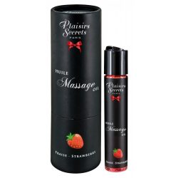 Massage Oil with a Strawberry Scent
