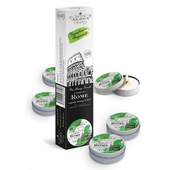 """Massage Candle Rome"""", Pack of 5"""""""