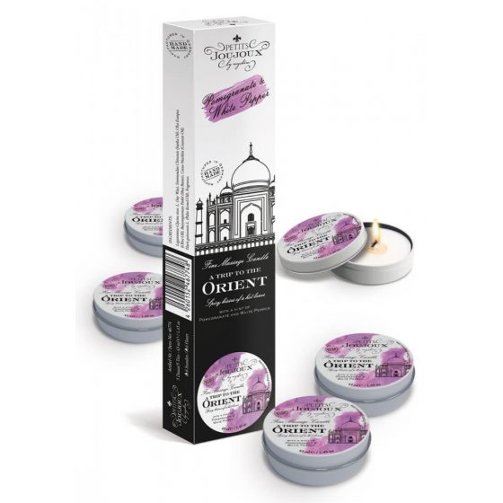 """Massage Candle Orient"""", Pack of 5"""""""