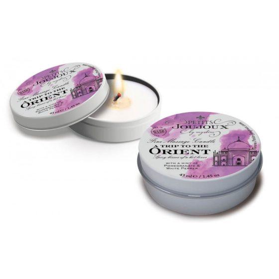 Petits Joujoux Orient - masážní svíčka - 43ml (granátové jablko - bílý pepř)