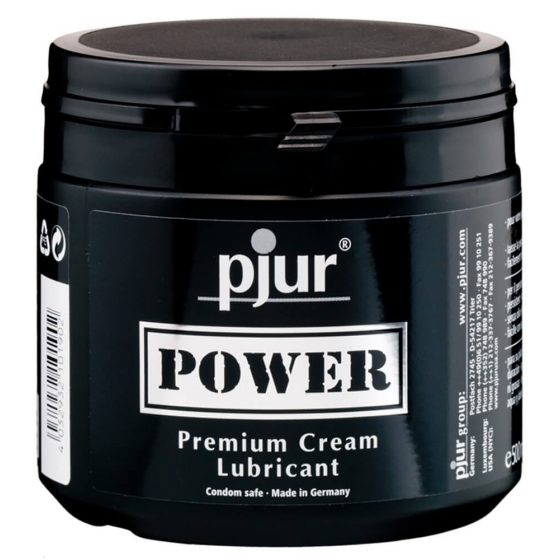 Pjur Power - prémiový lubrikační krém (500 ml)