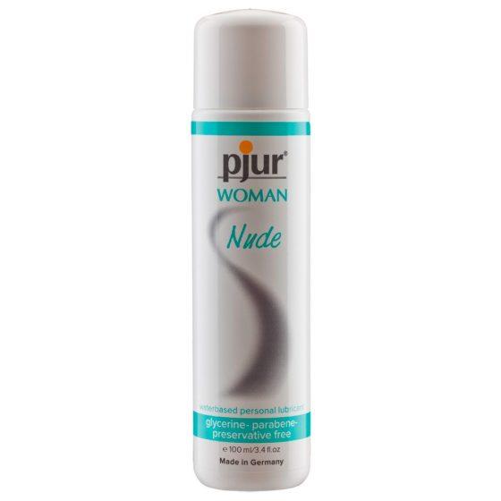 pjur Woman Nude - lubrikant na citlivou pokožku (100 ml)
