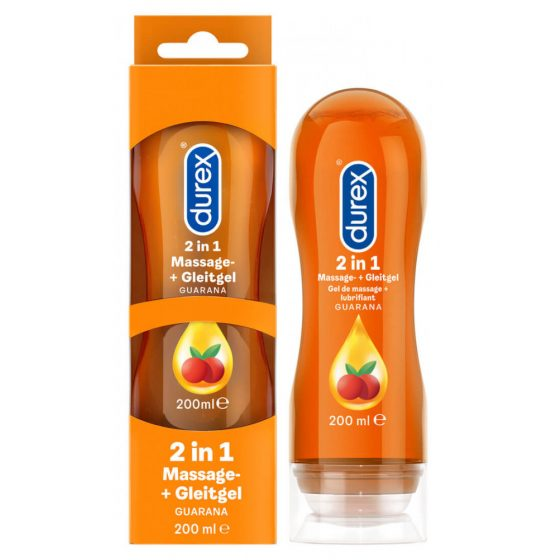 Durex Play 2in1 masážní olej - Guarana - 200ml