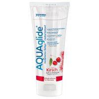 Joydivision Aquaglide cherry - lubrikační gel višňový (100ml)