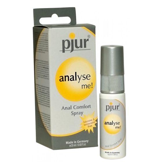 Pjur Analyse Me - anální ošetřující spray (20ml)