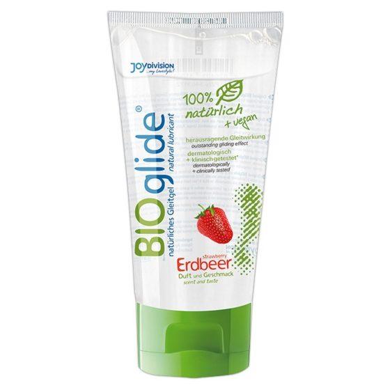 BIOglide jahodový lubrikant (80ml)