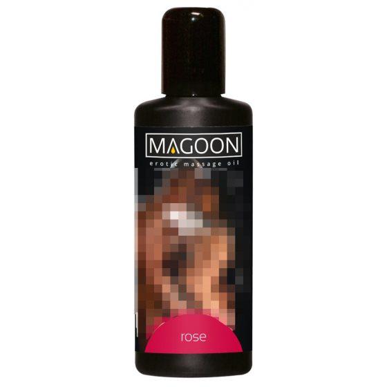 Magoon - masážní olej - růže 100ml