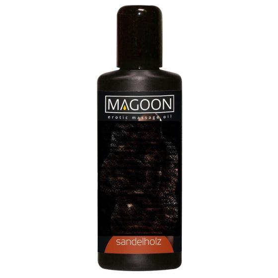 Magoon Sandelholz - santalový masážny olej (100ml)