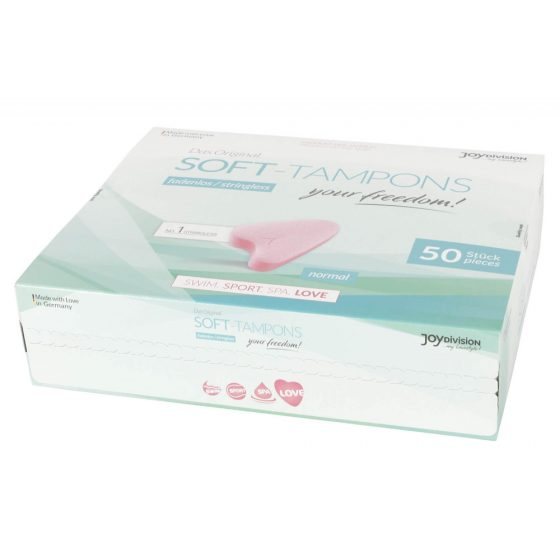 JoyDivision Soft Tampons Normal - tampóny (50ks)