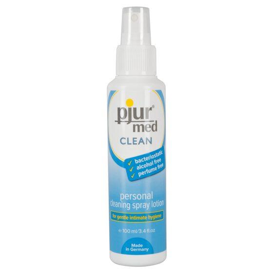 Pjur Med Clean - čistící sprej na erotické pomůcky a intimní partie (100ml)