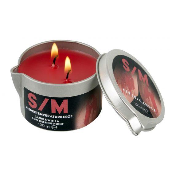 BDSM Kerze - parafínová tělová svíčka (100 ml)