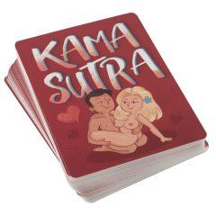 Kama Sutra - francouzské karty s vtipnými sexuálními polohami (54 ks)
