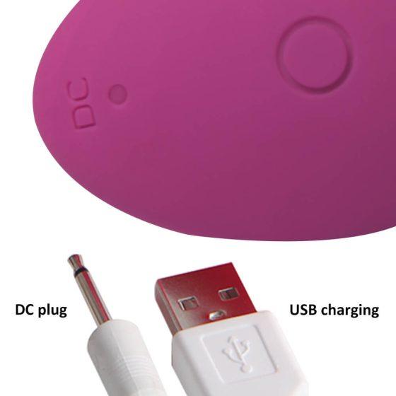 Cotoxo Saddle - nabíjecí vibrátor prostaty na dálkové ovládání (fialový)