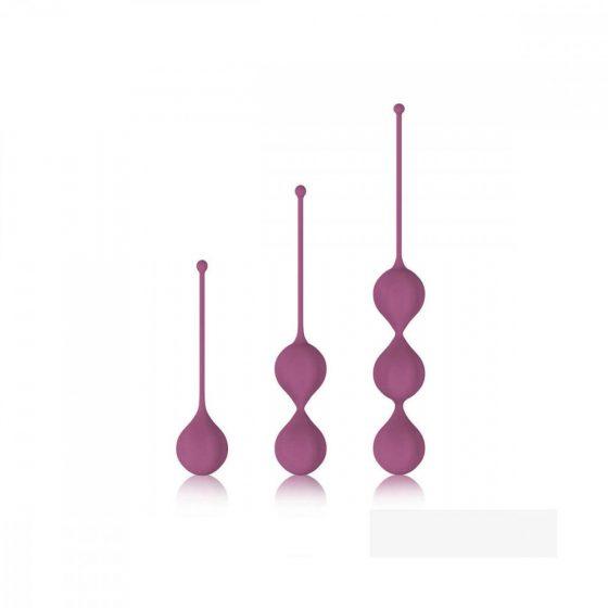 Cotoxo Belle - 3 dílná sada venušiných kuliček (fialová)