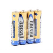 Maxell Alkaline AAA - alkalické mikro batérie typu AAA (4ks)