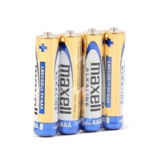 Maxell AAA - alkalické mikrotužkové baterie AAA (4ks)