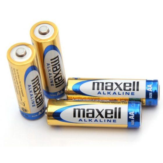 Maxell AA - alkalické tuźkové batérie AA (4ks)