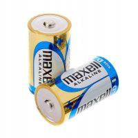 Alkalické baterie typu C - 2ks